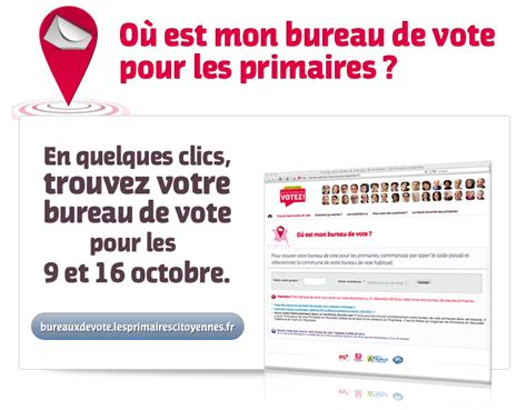 organisation bureau de vote mode d emploi des primaires trouver bureau de vote le coin politique de dedalus
