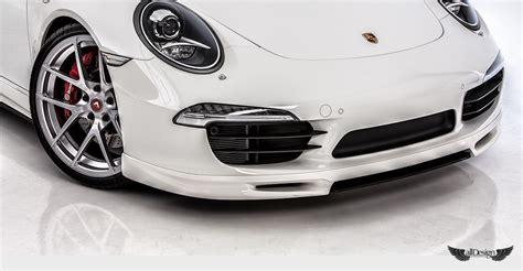porsche 911 carrera gts spoiler spoiler splitter delantero v gt vorsteiner en fibra de