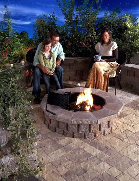 fireplace   garden construction  ideas