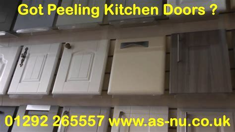 Kitchen Doors Peeling ?   Then Call 01292 265557   YouTube