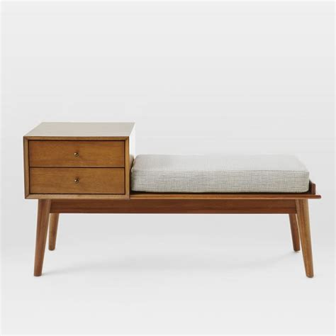 west elm storage bench 12 best entryway storage benches for 2018 entry benches
