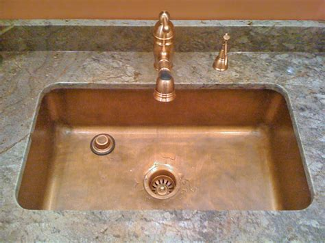 copper undermount kitchen sinks copper kitchen sinks signature kitchen copper sink 5807