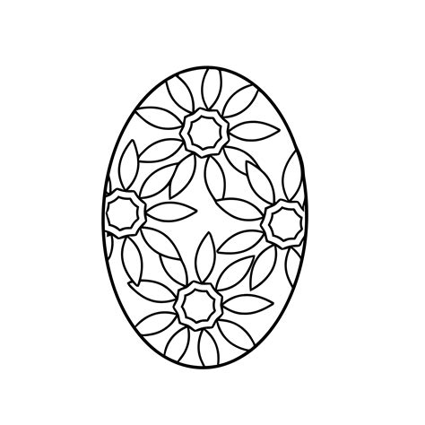 easter egg coloring pages coloringpages