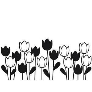darice embossing folder spring tulips garden flower border 1218 44 a2 82676296147 ebay