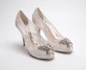 ivory lace wedding shoes wedding weds ivory bridal shoes the asian fashion journal