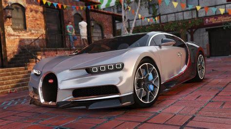 Gta V Bugatti Chiron by Gta 5 Bugatti Chiron Replace Mod Gtainside
