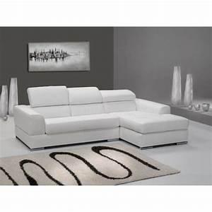 Canapé Angle Pas Cher : canap d angle blanc pas cher id es de d coration ~ Farleysfitness.com Idées de Décoration