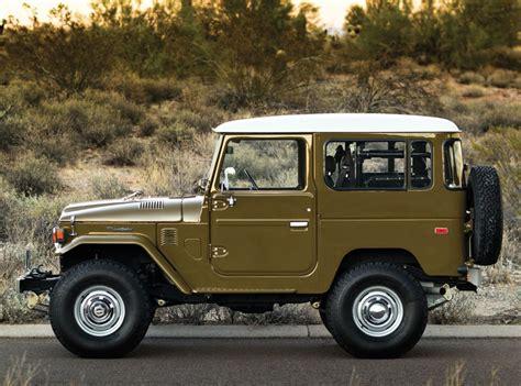 old jeep 1977 toyota fj40 land cruiser
