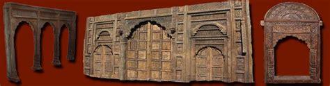 portes arches indiennes porte et arche palissandre inde