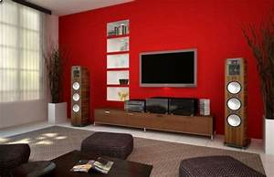 Wohnzimmer Wandgestaltung Farbe : 30 fotos von origineller wohnzimmer wandgestaltung ~ Markanthonyermac.com Haus und Dekorationen