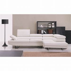 Canapé D Angle En Cuir : canap d 39 angle en cuir pleine fleur toulon pop ~ Teatrodelosmanantiales.com Idées de Décoration