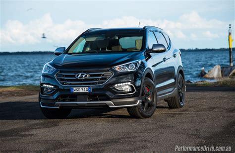 2016 Hyundai Santa Fe Review by 2016 Hyundai Santa Fe Sr Review Performancedrive