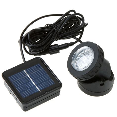 waterproof solar powered led spotlight spot light l