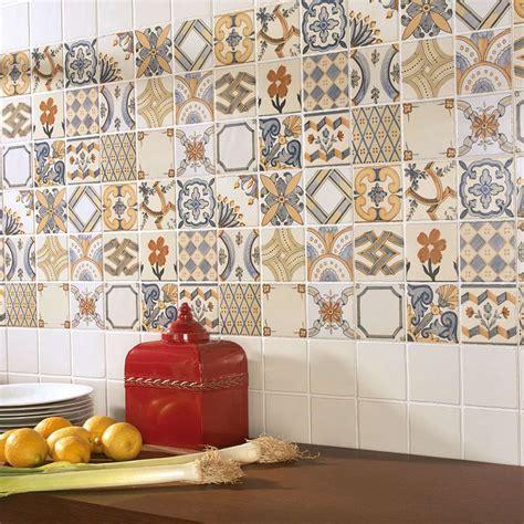 create  summery kitchen  moroccan tiles walls
