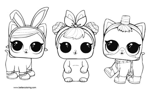 lol pets coloring pages     printable coloring pages