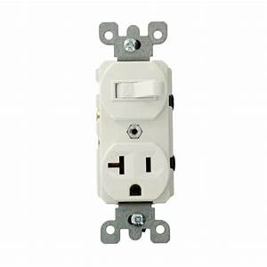 Leviton 20 Amp Commercial Grade Combination Single Pole