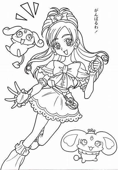 Pretty Cure Coloring Heart Da Max Colorare