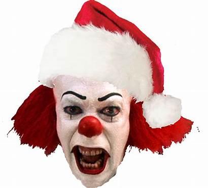Christmas Horror Merry Comic Clown Classic Darken