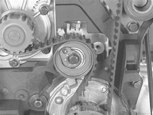 I Am Changing The Timing Belt   Tensioner  Water Pump And Idler On My 2002 S60 2 4 Turbo Volvo