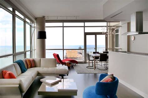 chicago condo remodel  spectacular lake views