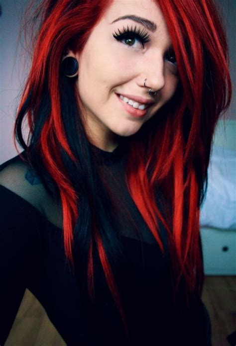 Top 10 Fiery Red Ombre Hair Ideas Hairstylesout