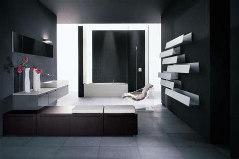 Modernes Badezimmer Schwarz Weiß-badezimmer Streichen Wohnideen Wohnzimmer Modern Deckenlampen Hülsta Leinwandbilder Mauer Wand Hängeschrank Weiß Wandtattoo Sprüche Essecke