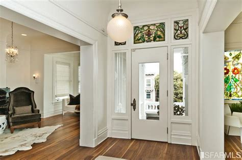 Victorian Mansion Front Door Entry Hall