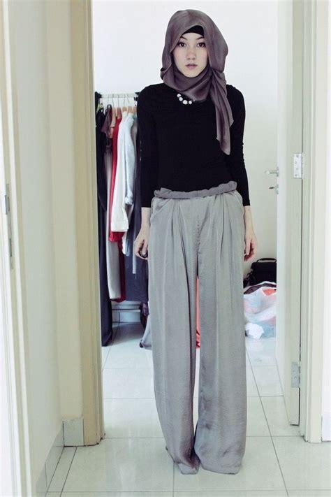 baju muslim gaul contoh model busana muslim sifon untuk wanita karir