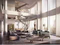 Luxurious Penthouse Dramatic Interior Dise O De Apartamento De Lujo Con Acabados Interiores Que Te