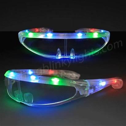 Futuristic Sunglasses Led Flashingblinkylights