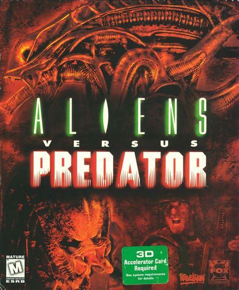 aliens  predator  windows  mobygames
