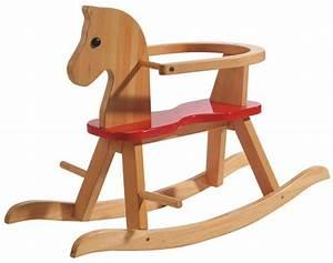 Cheval En Bois à Bascule : acheter un cheval bascule en bois s lection ~ Teatrodelosmanantiales.com Idées de Décoration