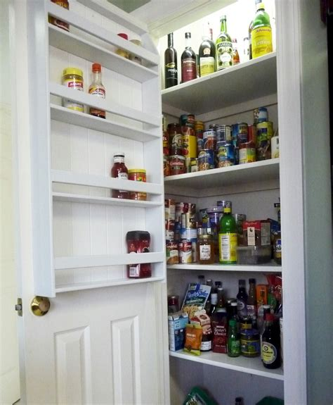 Spice Rack For Pantry Door by How To Make A Pantry Door Spice Rack