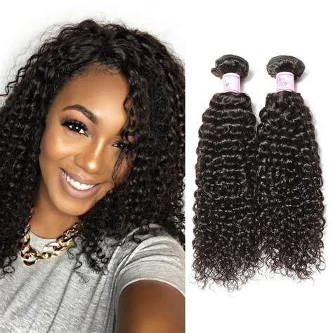 how to style extensions human hair beautyforever premium curly hair weaves 4bundles
