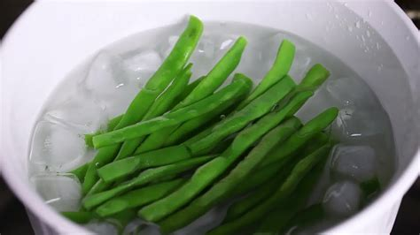 how to blanch green beans sperziebonen blancheren wikihow