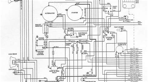 Wiring Diagram Electrical System Circuit Dodge Aspen