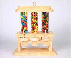 Candy Machine Woodworking Plan