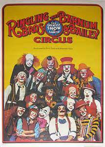 Ringling Brothers Barnum and Bailey Circus Clowns