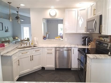 Buy Thompson White Kitchen Cabinets Online