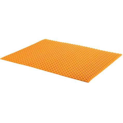 schluter kerdi tile underlayment schluter ditra heat 1 4 quot underlayment 8 6 sq ft schillings