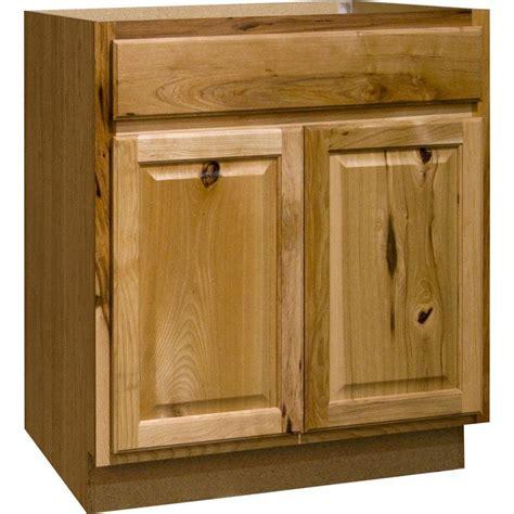 home depot kitchen base cabinets hton bay hton assembled 30x34 5x24 in sink base 7076