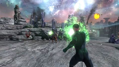 green lantern rise of the manhunters official gameplay trailer