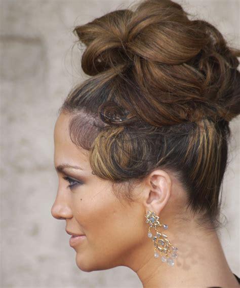 jennifer lopez hairstyles updos