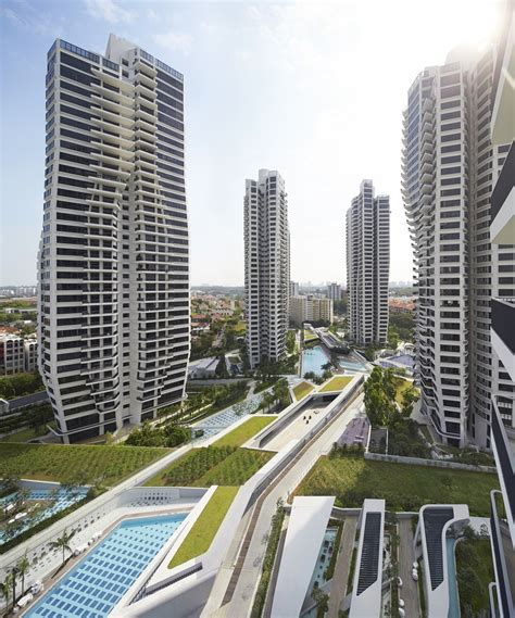 d'Leedon, Singapore Residential Towers by Zaha Hadid - e ...