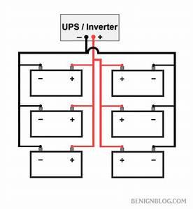 Ups Battery Wiring Diagram