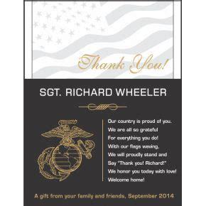 marines plaques  appreciation quotes diy awards