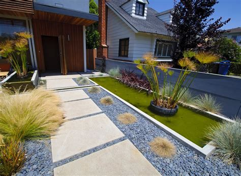 Concrete Walkway Design-landscaping Network