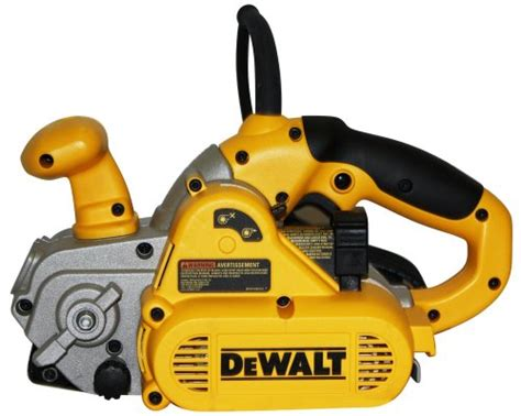 dewalt dw433k 8 3 inch by 21 inch variable speed belt sander kit with dust canister and