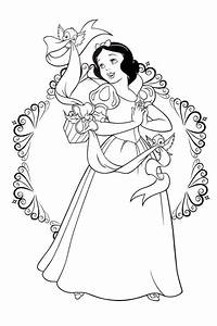 snow white coloring pages cautare google coloring With wiringpi 40 pins