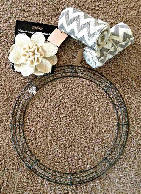 wreath diy all things katie marie diy burlap wreath